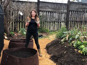 Recycled Grow Bags for Backyard Veggies: A New Raised Bed Style