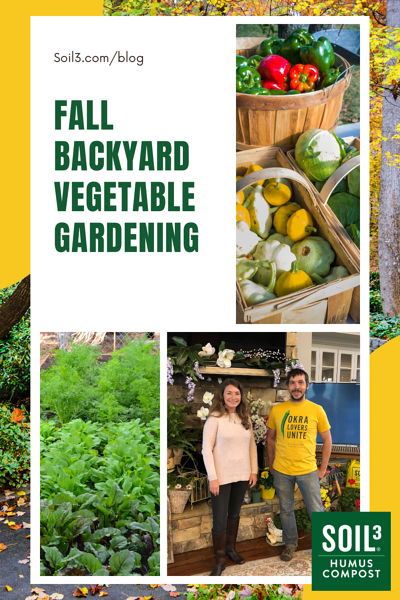 Fall Backyard Vegetable Gardening