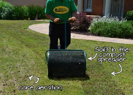 Soil3 Compost-Topdressing as a Fertilizer Application - featured image