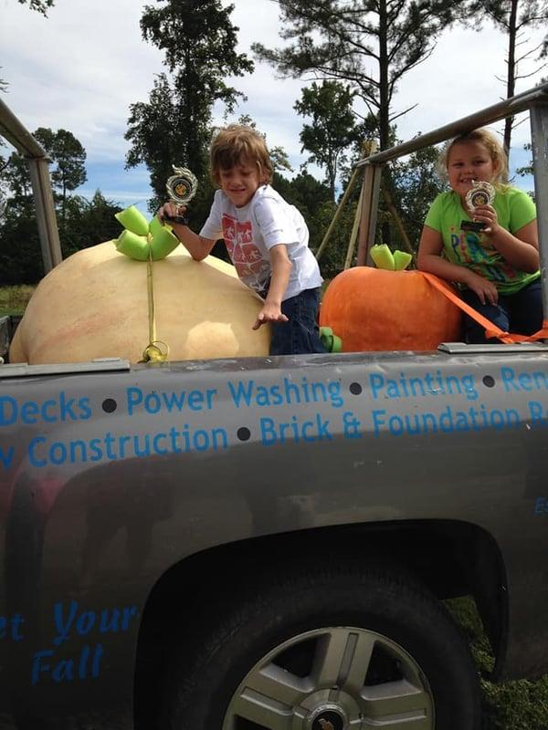 2013 lovitt kids and pumpkins