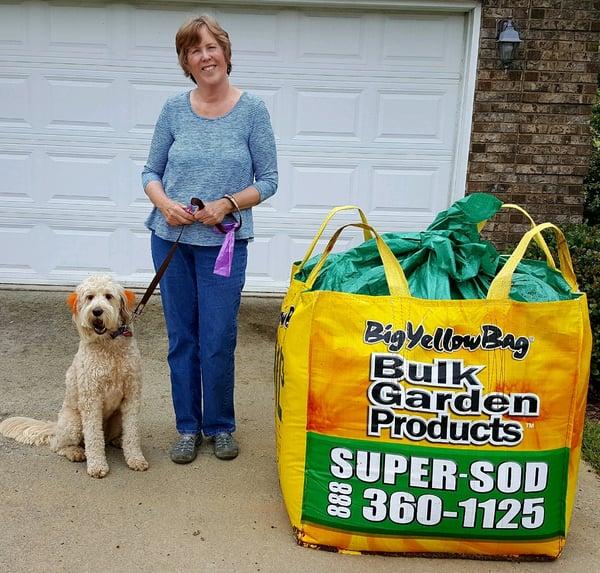 bulk compost in bag delivery