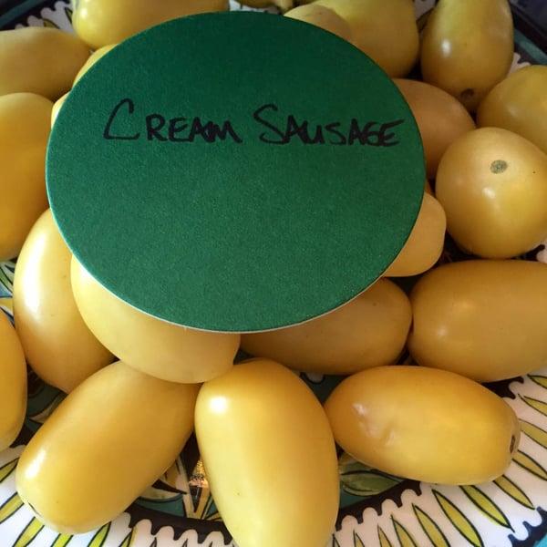 cream sausage