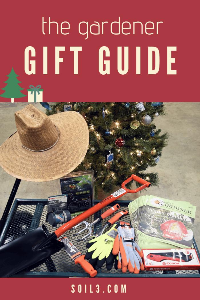 gardener gift guide 2018