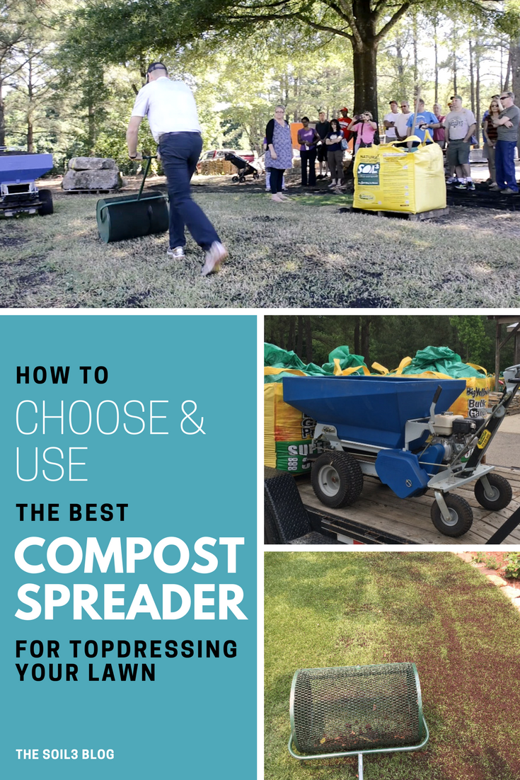 how to choose a compost spreader