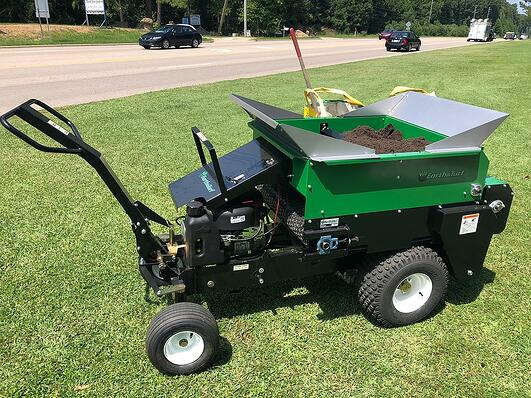 new raleigh cary compost spreader
