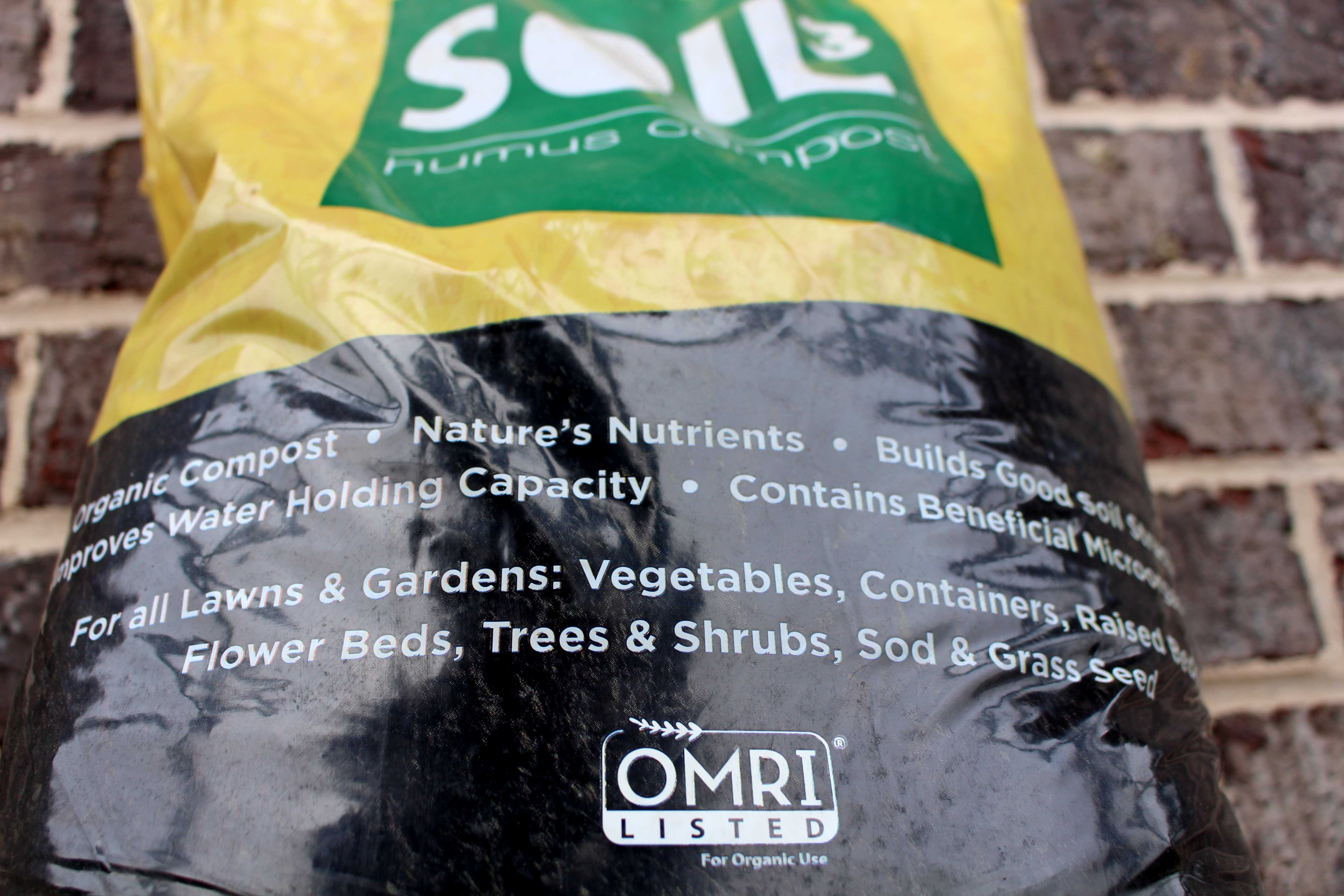 small Soil3 bag OMRI highlight