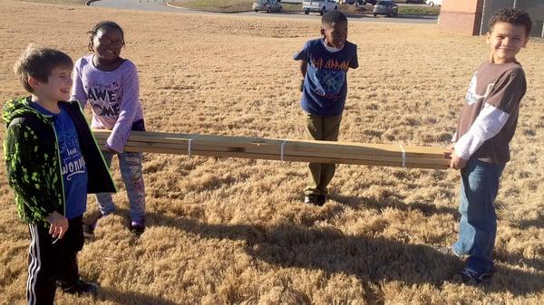 walker park elementary constructing raised beds copy
