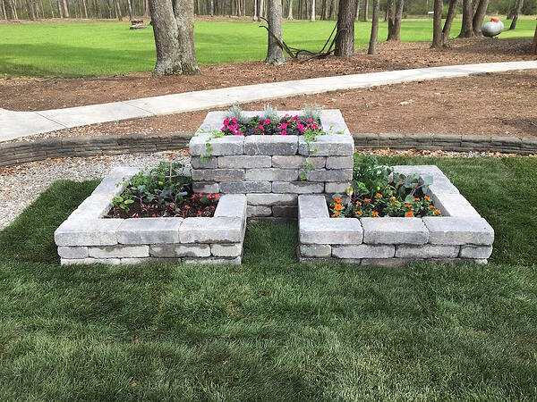 AMG Landscaping and Construction best quality of construction raised bed contest