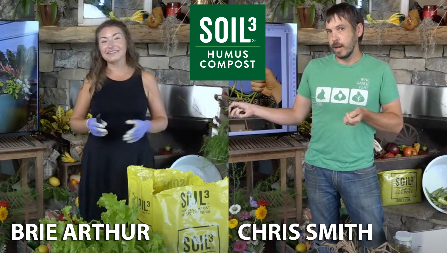Soil3 YouTube Live Fall Gardening