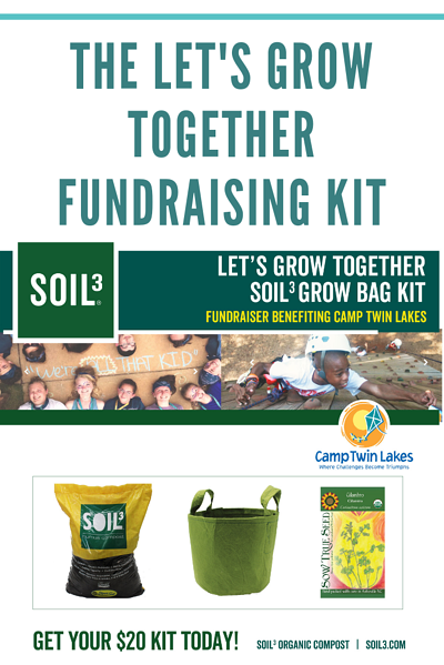The lets Grow together fundraising kit