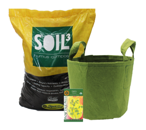 Let's Grow Together Fundraising with Soil3™: Grow Bag Fundraiser Kit - featured image